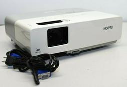 Epson PowerLite 83+ EMP-83H 3LCD Projector With Less Than 30