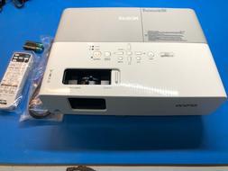 Epson PowerLite 83+ LCD Projector 2200 ANSI HD 1080i HDMI w/