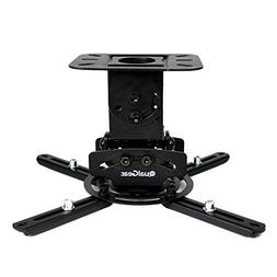 QualGear PRB-717-BLK Universal Ceiling Mount Projector Acces