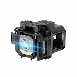 AWO Premium Replacement Projector Lamp Bulb with Housing Fit