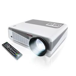"Pyle PRJAND615 HD Wi-Fi Blu Ray Projector up-to 120"" Dual Co"