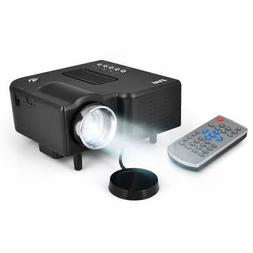 Pyle PRJG48 1080p Mini Compact Pocket Projector with USB/ SD