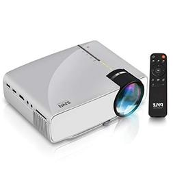 Portable Multimedia Home Theater Projector - Compact HD 1080