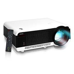Pyle PRJLE82H LED HD Projector with 1080p Support Built-In S