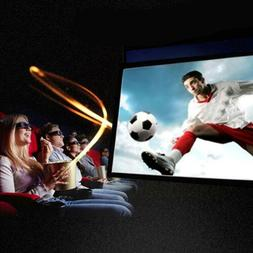 Projection Screens Portable HD Projector For Home Cinema The