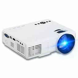 "Projector XINDA 2000 Lumens Video Projector with 170"" Displa"