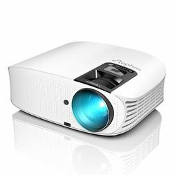 Projector,ELEPHAS 3500 Lumen LED Home Theater Projector with