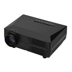 fosa Video Projector, 19201080P Mini Projector 150ANSI LM Po
