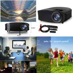 Video Projector,DHAWS 3800LM 1080P Full HD HDMI Office Proje