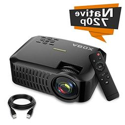 Projector,2019 Newest ABOX A2 Native 720P Portable Home Thea