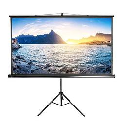 Projector Screen with Stand 84 inch Indoor and Outdoor Proje