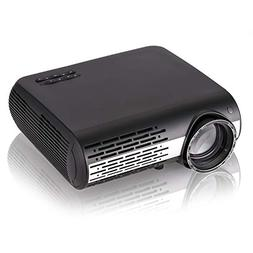 """HD Projector,Dihome 4500 lumens Video Projector with 350"""" Di"""