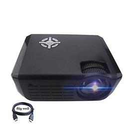 Projector,XINDA 720P Video Projector 2800 lumens with HDMI C