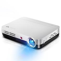 WOWOTO DLP LED Video Projector 1280x800 HD Support 1080P And