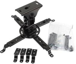 VideoSecu LCD DLP Tilt Swivel Sloped Projector Ceiling Mount