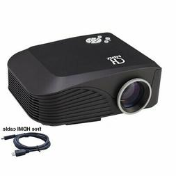 Xinda LED Video Projector Home Projector with Free HDMI Supp
