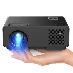 "DBPOWER Projector - Mini Portable Video Projector 176"" Displ"