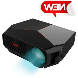 Projector,XINDA HD Video Projector 3800L Outdoor Movie Proje