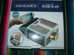 YORKSHIRE PROJECTOR IN-A-BOX FOR CELL PHONES SEE DESCRIPTION