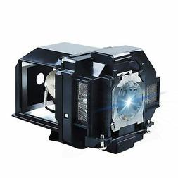 AWO Projector Lamp Bulb with Housing Replacement for EPSON E