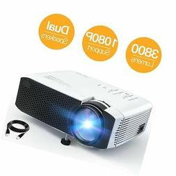 Projector APEMAN Video Mini Portable Projector 3500 Lumen wi