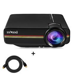 Projector Deeplee Mini Video Laptop 1500 Lumens LCD HD USB H