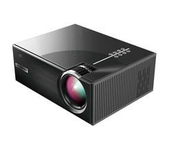 PRAVETTE C7-BK Mini Portable Projector Home Entertainment Vi