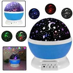 Projector Night Light LED Star Master Sky Lamp Romantic Cosm