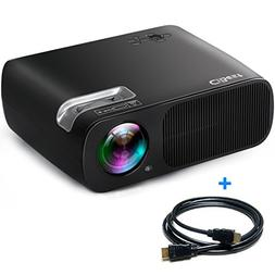 "CiBest Video Projector 2600 Lumens Portable 1080p Max 200"" B"