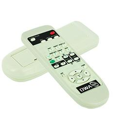 AWO Projector Remote Control Fit for EPSON Projectors PowerL