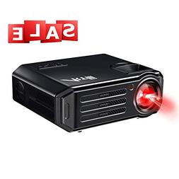 Video Projector,1080P Support Full HD Home Theater Projector