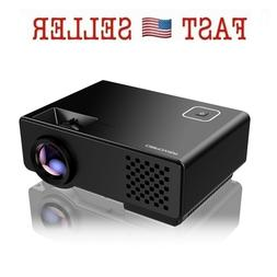Projector Upgraded DBPOWER Mini Multimedia Home Theater Vide