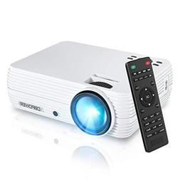 Projector, DBPOWER X5 +60% Brightness Mini Portable Video Pr