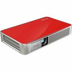 Qumi 720p HD 500 with Pocket Projector Q3 DLP Red Wi-Fi Plus