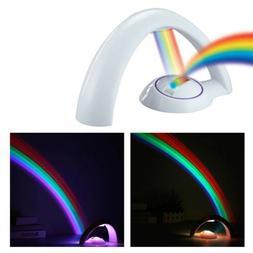 Rainbow Projector Room Night Light LED Color Lamp Magic Roma