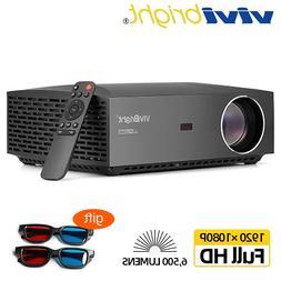 VIVIBright Real Full HD 1080P <font><b>Projector</b></font>,