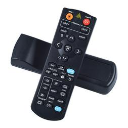 Black TeKswamp Video Projector Remote Control for ViewSonic PJ1158