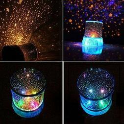 Romantic LED Starry Night Sky Projector Lamp Star Light Mast