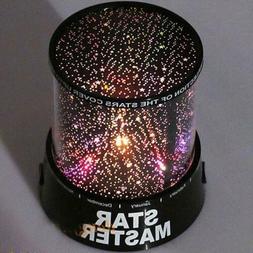 Romantic Starry Night LED Sky Projector Lamp Star Light Cosm