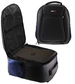 Navitech Rugged Black Carry Backpack / Rucksack / Case For T
