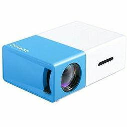 SALE DeepLee DP300 Mini Projector, Portable LED Home Cinema