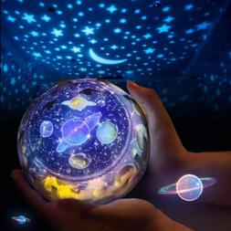Star Night Light Universe LED Rotating Projector Desk Starry