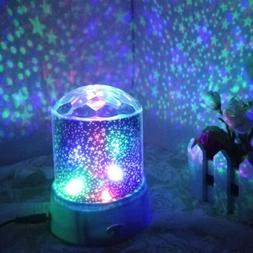 Star Projector Projector Night Light Sky Led Lamp Kids Moon
