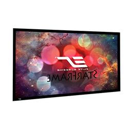 Elite Screens Star Frame Series, 100-INCH 16:9, Fixed Frame