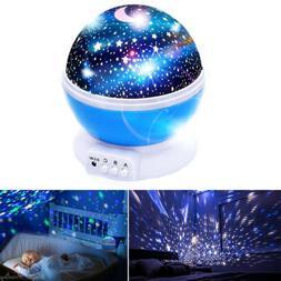 starry night sky projector lamp kids baby