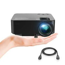 DBPOWER T20 1500 Lumens LCD Mini Projector, Multimedia Home