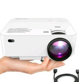 DBPOWER T20 1500 Lumens LCD Mini Video Projector Home Theate