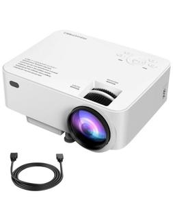 DBPOWER T20 1800 Lumens LCD Mini Projector BRAND NEW & SEALE