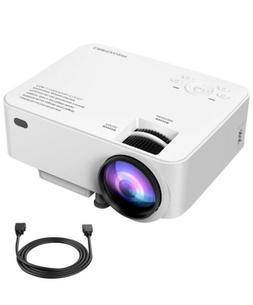 DBPOWER T20 1800 Lumens LCD Mini Projector BRAND NEW & SEALE