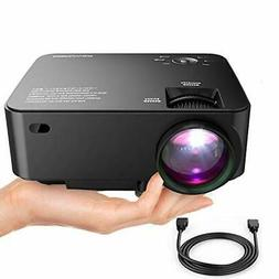 DBPOWER T20 LCD Mini Movie Projector, Multimedia Home Theate